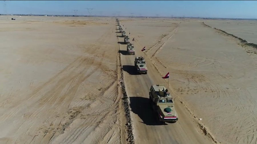 MRAP Caiman tokom operacije na Sinaju ( Foto: Mahmoud Gamal)