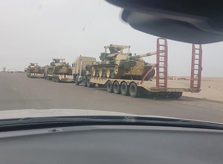 Tenkovi T-90S/SK u Iraku