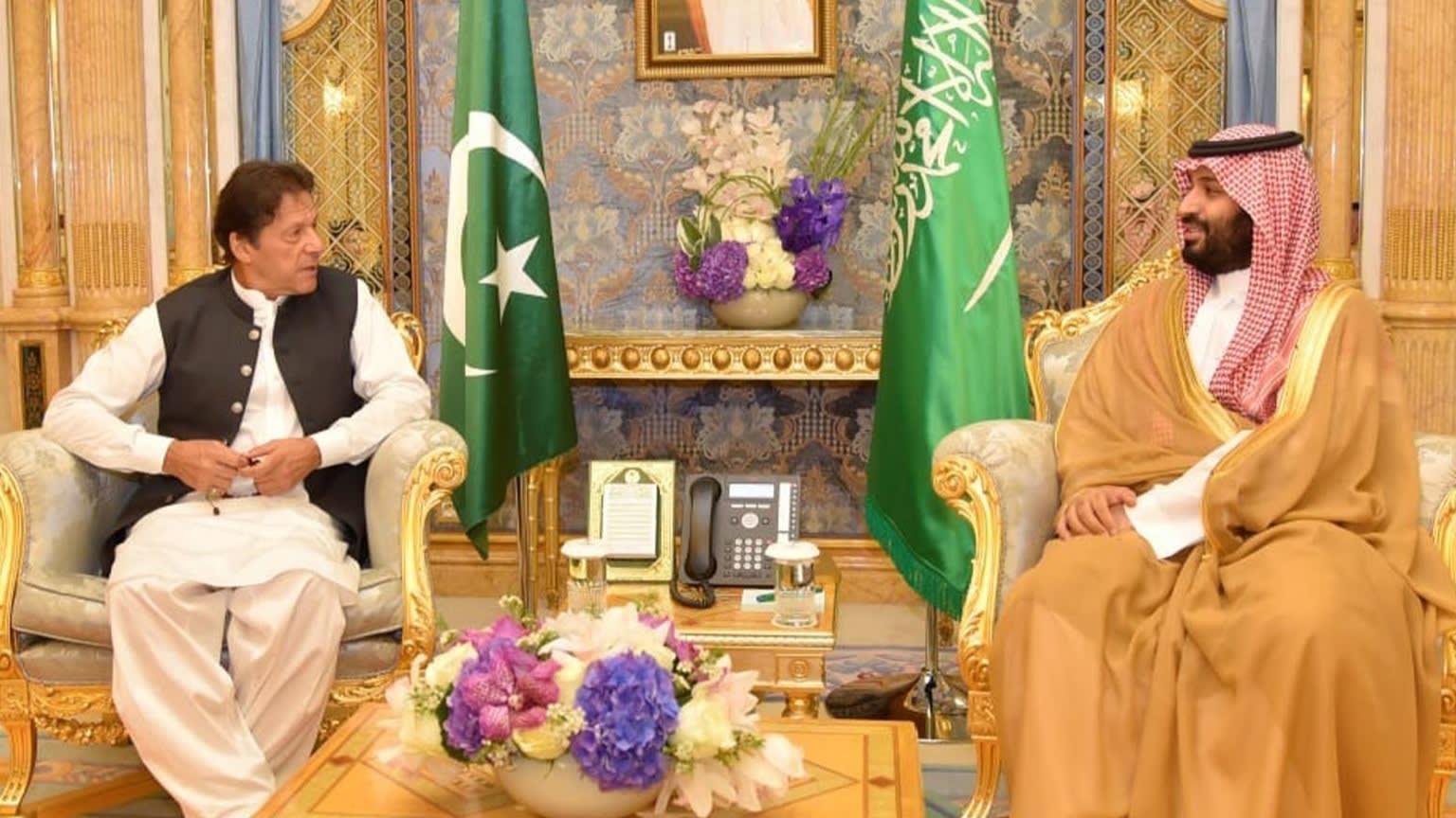 Imarn Khan with MBS