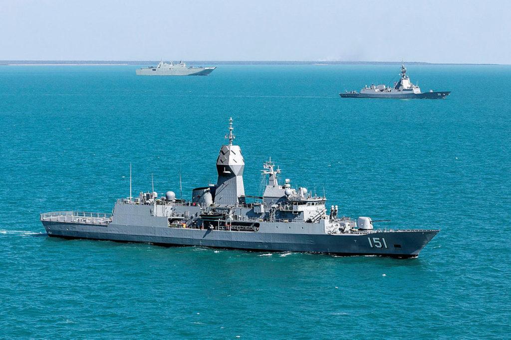 HMAS Arunta RIMPAC