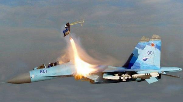 Su-30 Ejected