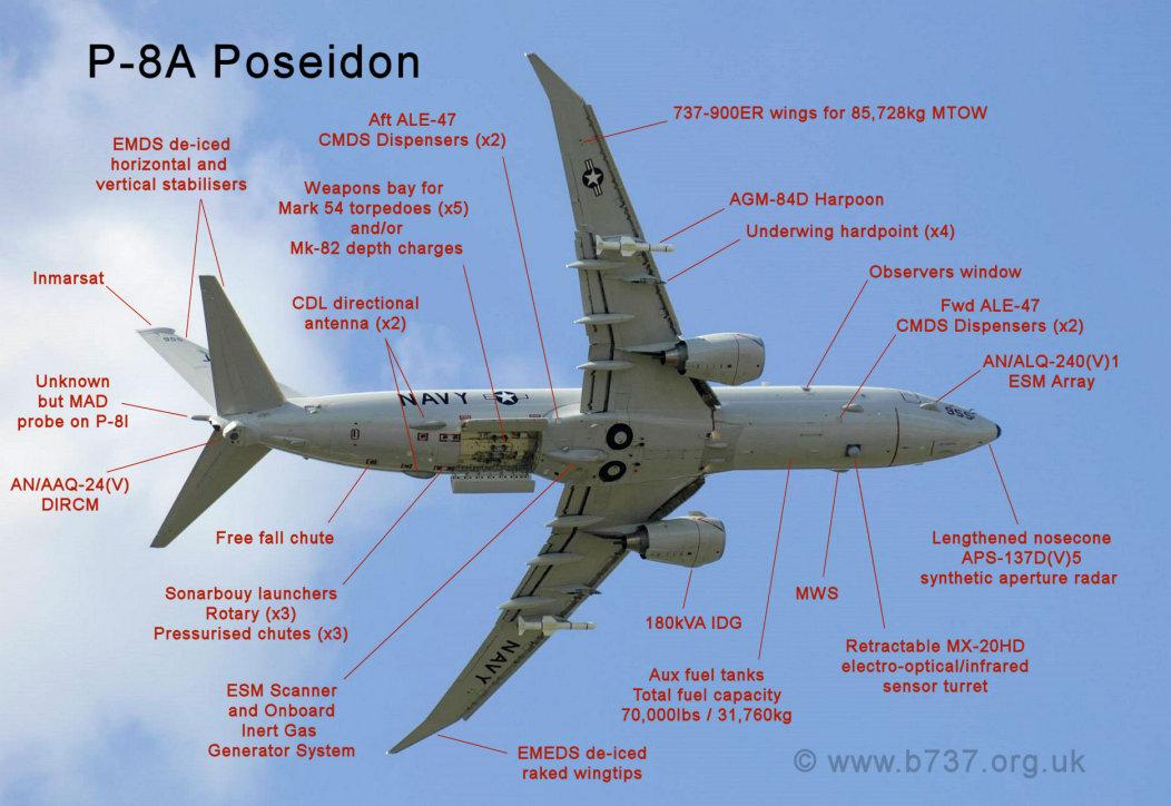 P-8A Poseidon Farnborough