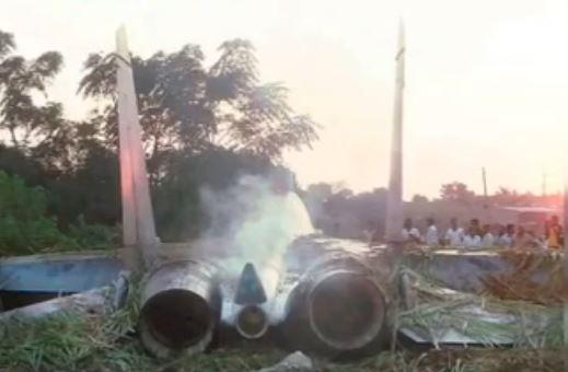 Su-57 Crashed1