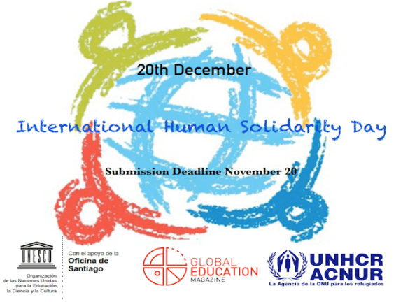 International Human Solidarity Day, Global Education Magazine