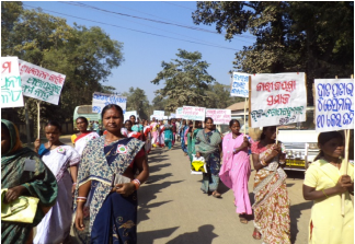 Indigenous Women of Ecovillages in Orissa Asserts their Rights India, global education magazine