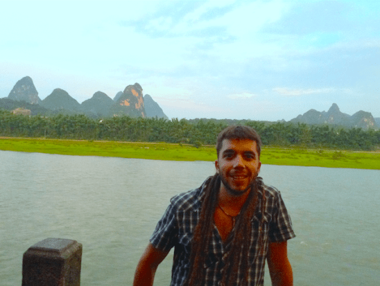 javier collado ruano, china, yangshou