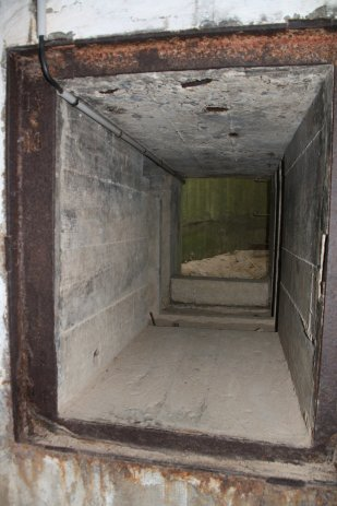 Observation post walls - 2 meters thick