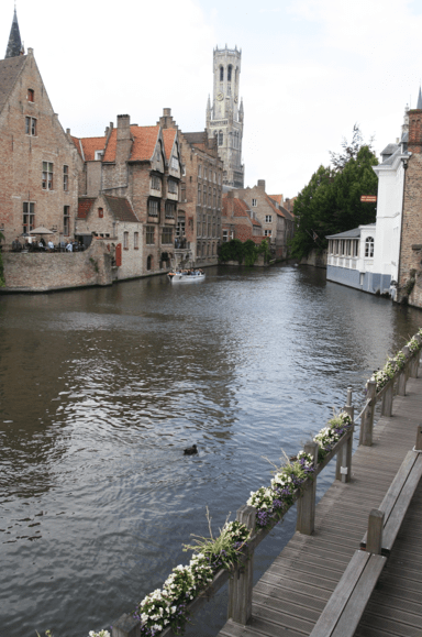 One of the many beautiful canals.
