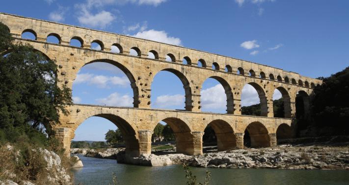 Pont du gard - Art
