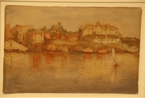 One of Emily's early paintings