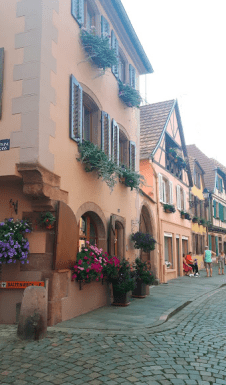 The streets of Colmar