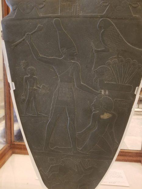 Side 1 of the Narmer Palette
