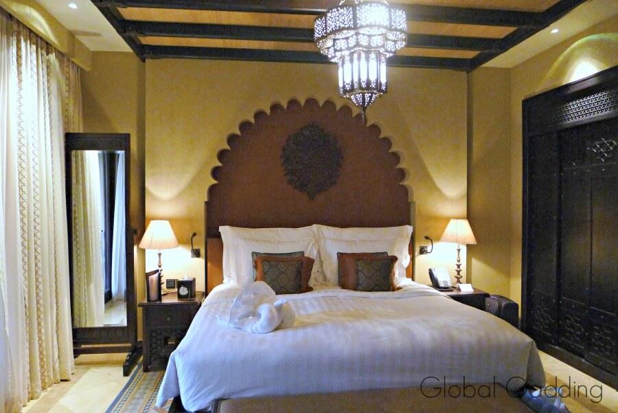 king sized room anantara resort