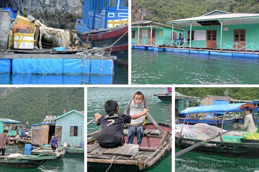 Cua Van Fishing Village
