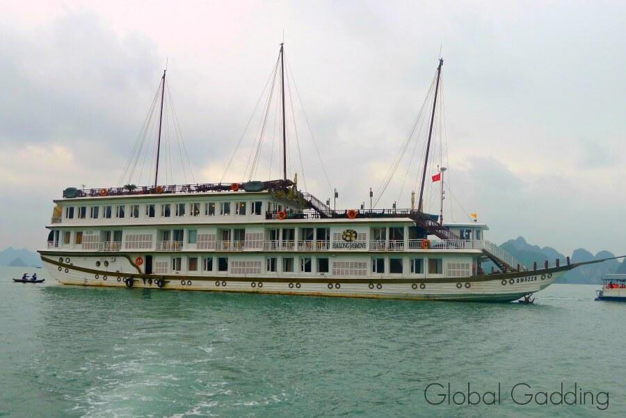 Halong Jasmine Boat In Halong Bay