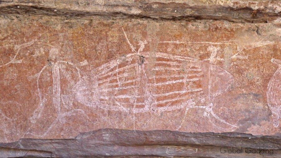 Rock Art At Ubirr Kakadu