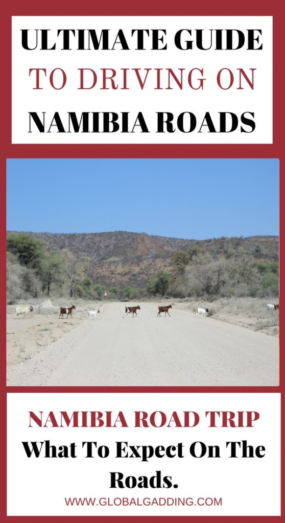 Namibia Roads Namibia Travel Advice