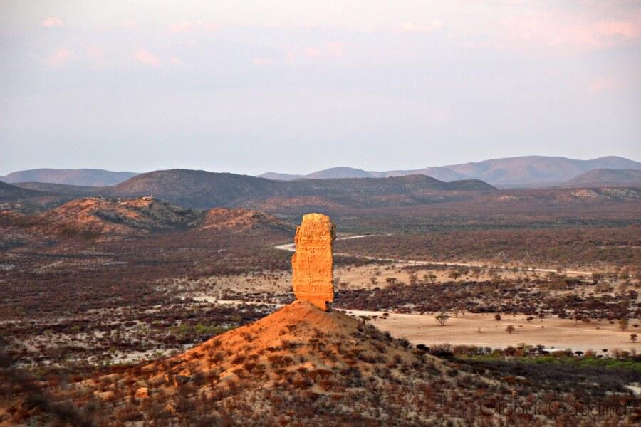 Vingerklip Namibia Vingerklip Lodge View