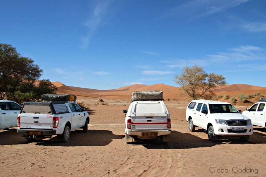Dead Vlei Parking Area namibia