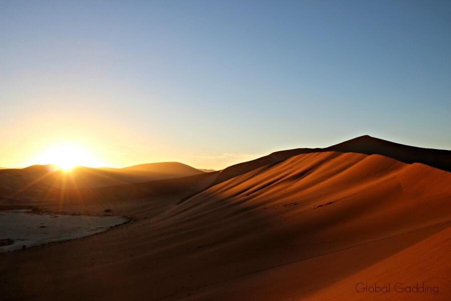 Big Daddy Sand Dune At Sunrise