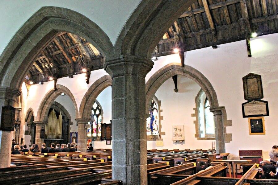 picturesque llangollen st collen church