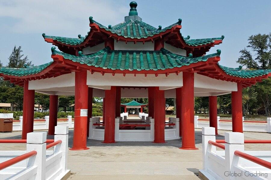 singapore's southern islands kusu pavilions