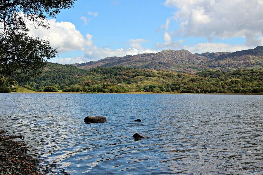 Snowdonia Llyn Dinas lake