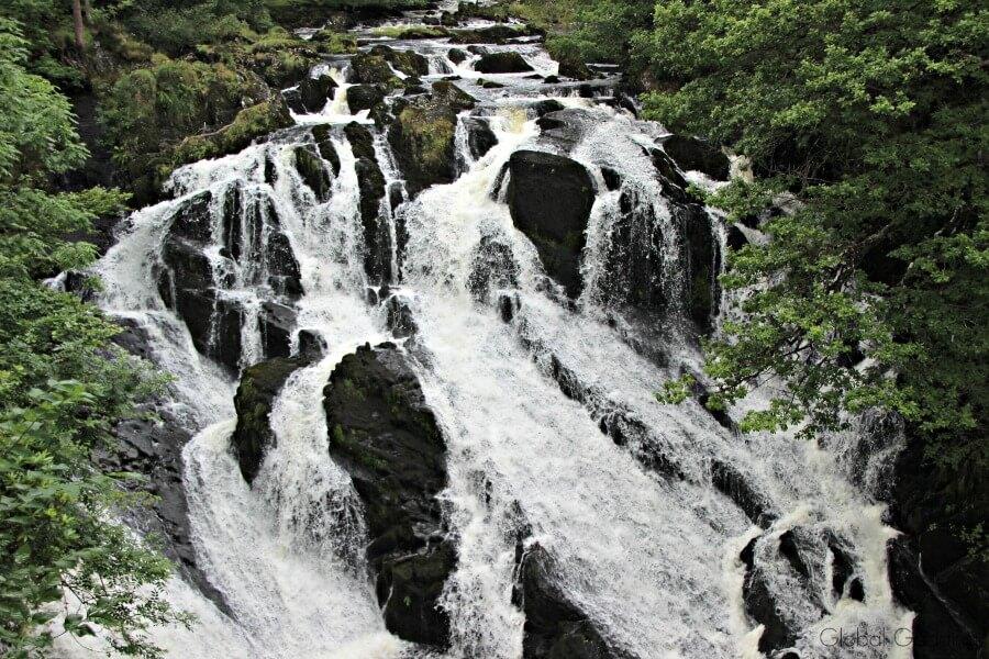 Swallow Falls Near Betws-y-Coed Conwy