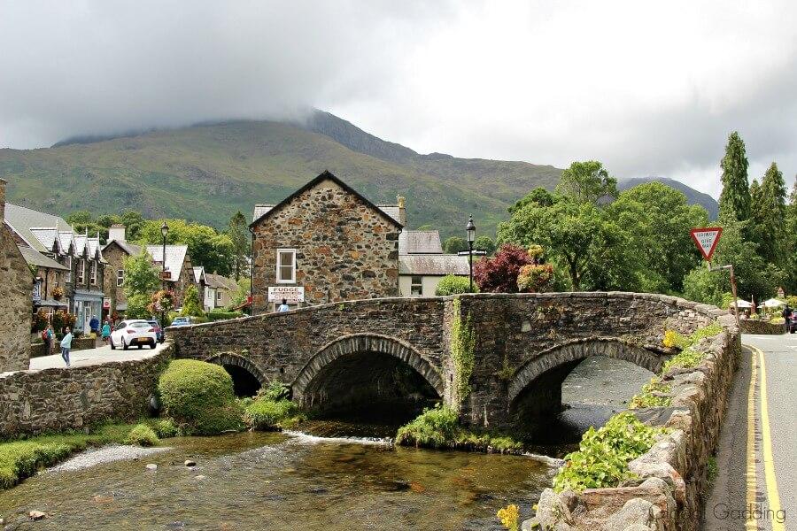 Snowdonia Beddgelert Village
