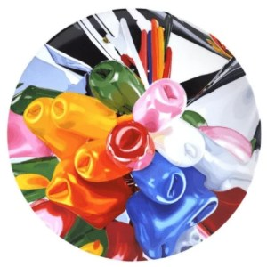 Jeff Koons Tulips - JEFF KOONS - Tulips