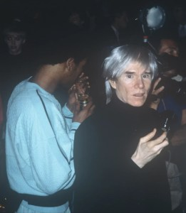 George Dubose He wasn't that shy Andy Warhol at Studio 54 - GEORGE DUBOSE - He wasn't that shy (Andy Warhol at Studio 54)