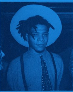 George Dubose Holy Glory II Blue Jean Michel Basquiat - GEORGE DUBOSE - Holy-Glory II - Blue