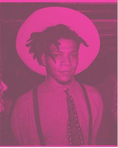 George Dubose Holy Glory III Pink 300 Jean Michel Basquiat - GEORGE DUBOSE - Holy-Glory III - Pink 300 (Jean-Michel Basquiat)