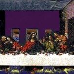 A.P . ASTRA Last supper from the serial monuments for aids - Unique Works