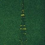 A.P. Astra Burj Khalifa I Dubai green night - Unique Works