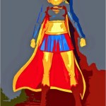 A.P. ASTRA Don't hurt Supergirl