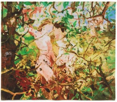 CECILY BROWN - Print on cotton 2011
