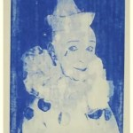 FORD BECKMAN - Clown Portrait Blue # 10