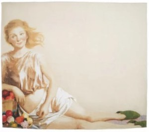 JOHN CURRIN Print on cotton - JOHN CURRIN - Print on cotton