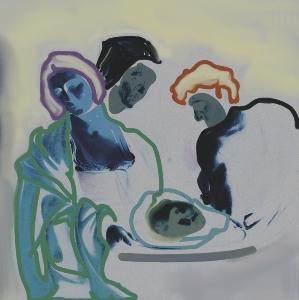 LEON FONTANA Tráiganme la cabeza de Alfredo García after Caravaggio - B Good - Tráiganme la cabeza de Alfredo García (after Caravaggio)