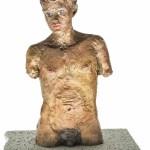 STEPHAN BALKENHOL Männlicher Torso (male torso)