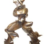 Boccione after Unique forms of continuity in space bronze - Sculptures
