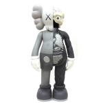 Kaws Comanion Flayed grey vinyl sculpture - Sculptures