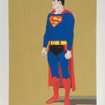Mel Ramos Superman lithography - Graphics