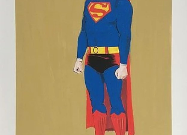 MEL RAMOS, Superman, lithography. Global Galleries