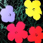 Warhol Sunday B Morning Flowers 11.73 silkscreen - Graphics