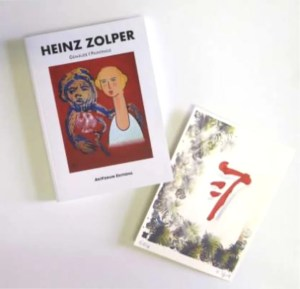 Zolper Paintings. art monograph edition  - HEINZ ZOLPER - Gemälde I Paintings