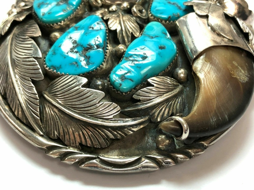 Feather Turquoise Border