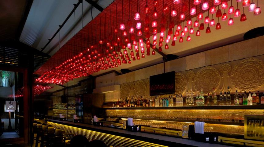 Pan asian sensation shiro restaurants for Terrace restaurants in bangalore