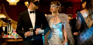 "Jamie Dornan and Dakota Johnson in ""Fifty Shades Darker,"" the sequel to ""Fifty Shades of Grey."" Credit Doane Gregory/Universal Pictures"